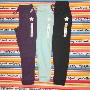Bundle of fleece jogger sweatpants